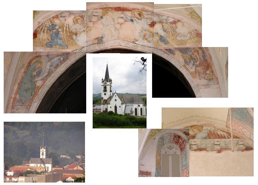 Fresky v evanjelickom kostole