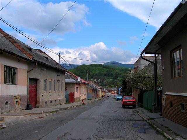 Nová ulica v jej strednej časti