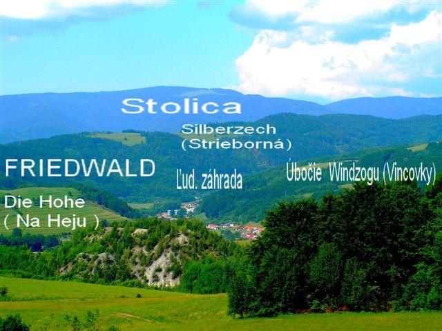 Hee,Friedwald Strieborná,Stolica