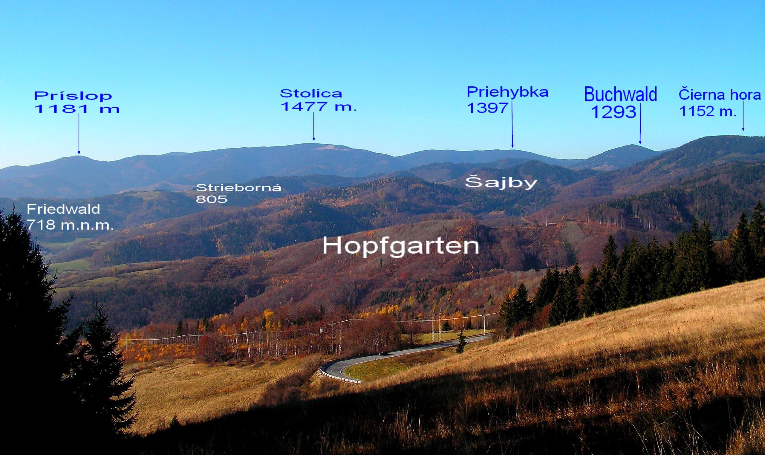 Dobsina okolie popis vrchov