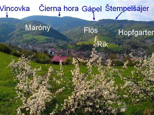 Pomenovania Gápel, Vincovka, Maróny, atď.
